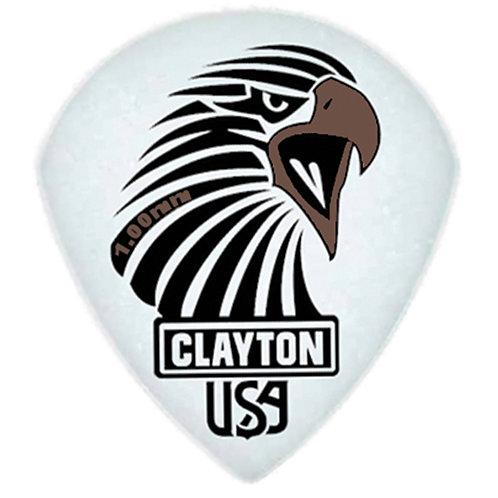 Clayton Acetal Sharp Teardrop 1.0mm (12 Pack)