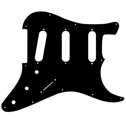Guitar Tech Scratchplate ~ S-style ~ Black