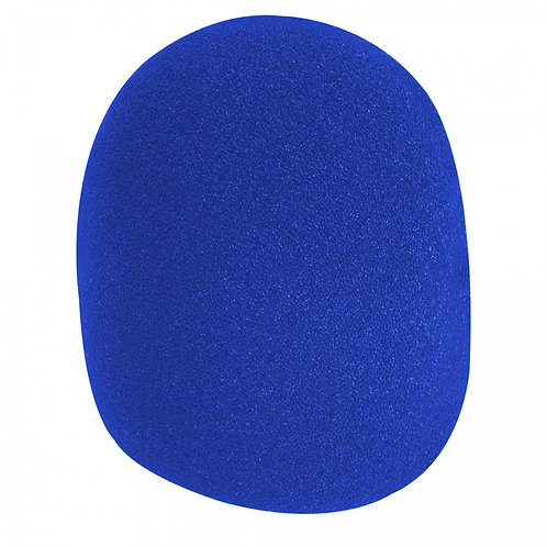 On-Stage Microphone Windshield - Blue