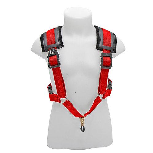 BG Alto, Tenor and Baritone Harness Small Red Coated Metal Hook