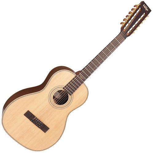 Vintage Paul Brett 12 String Electro-Acoustic Guitar ~ Natural
