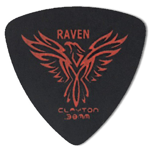 Clayton BLACK RAVEN ROUNDED TRIANGLE .38MM (12 Pack)