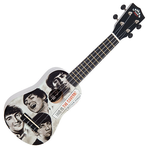 The Cavern Club Ukulele ~ 'Fab Faces'