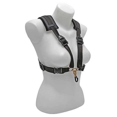 BG Alto, Tenor and Baritone Harness Comfort Strap XL Women Coated Metal Hook