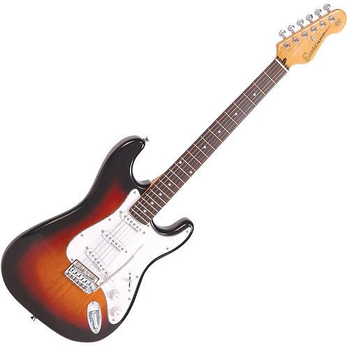Encore E6 Electric Guitar ~ 3 Tone Sunburst
