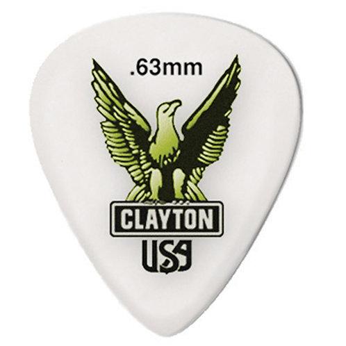 Clayton Acetal Standard .63mm (12 Pack)