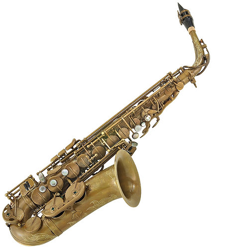 P. Mauriat 67R Alto Sax ~ Un-lacquered