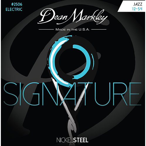 Dean Markley Jazz 12-54 NickelSteel Electric Signature Series String Set