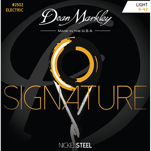 Dean Markley Light 9-42 NickelSteel Electric Signature Series String Set