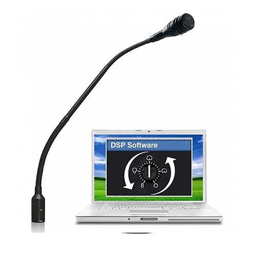 "CAD Astatic 18"" Variable Polar Pattern Podium Gooseneck Microphone ~ DSP"