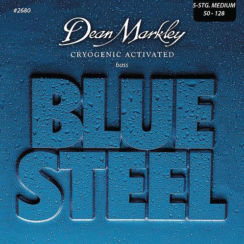 Dean Markley Blue Steel Bass Guitar Strings Medium 5 String 50-128