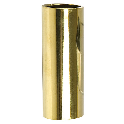 Clayton Socket Guitar Slide Brass (Medium)