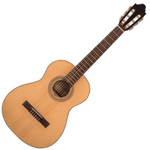 Santos Martinez Principante 3/4 Size Classic Guitar ~ Open Pore, Natural