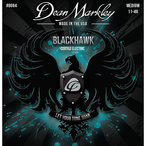 Dean Markley Blackhawk Coated Electric Strings Medium 11-49