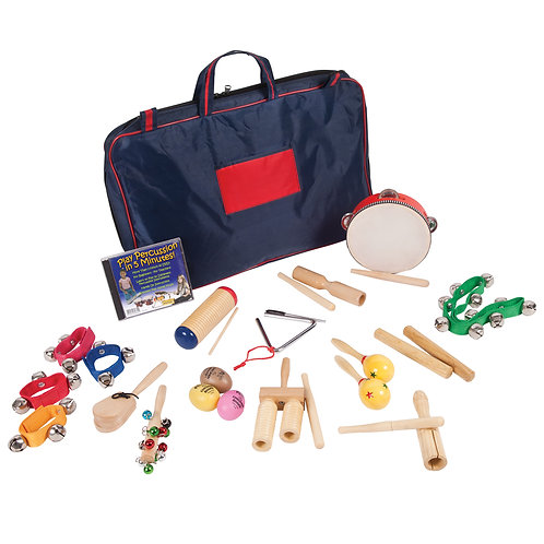 PP World Multi-Percussion Pack + DVD and carry bag
