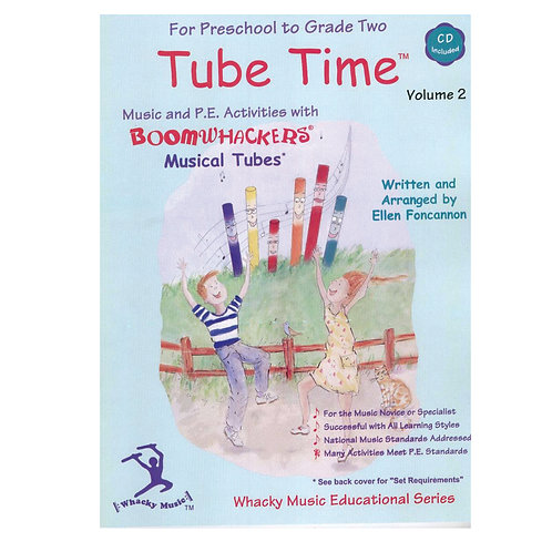 Boomwhackers Tube Time CD � Volume 2
