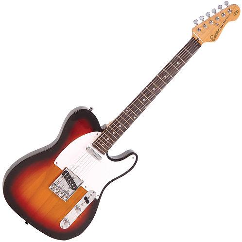 Encore E2 Electric Guitar ~ 3 Tone Sunburst