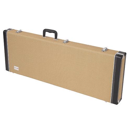 Kinsman Regular Tweed Hardshell Case ~ Electric Guitar