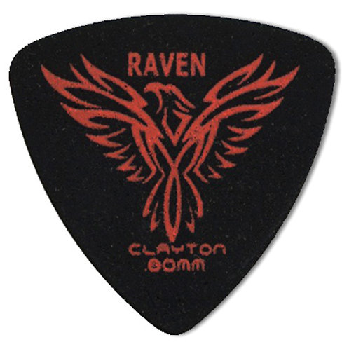 Clayton BLACK RAVEN ROUNDED TRIANGLE .80MM (72 Pack)