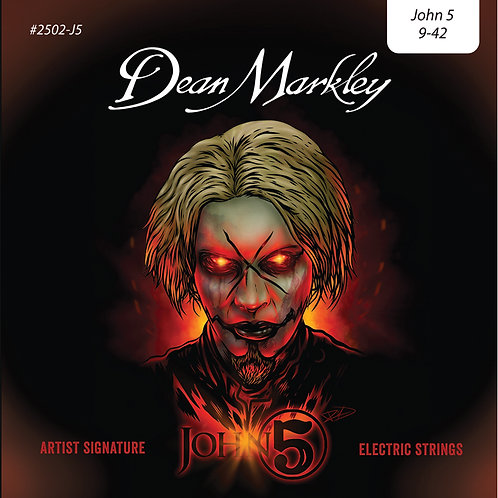 Dean Markley John 5 Signture Strings ~ Light