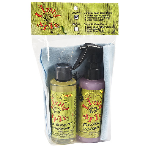 Lizard Spit Guitar & Bass Care Pack with Cloth