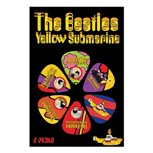 The Beatles Yellow Submarine Picks ~ Multi Colour