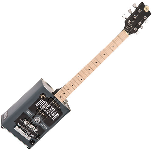 Bohemian Oil Can Guitar ~ 2 Single Coils ~ Moonshine