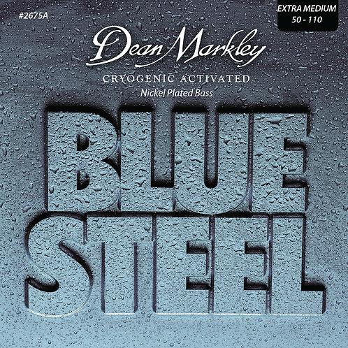 Dean Markley Blue Steel NPS Bass Guitar Strings Extra Medium 4 String 50-110