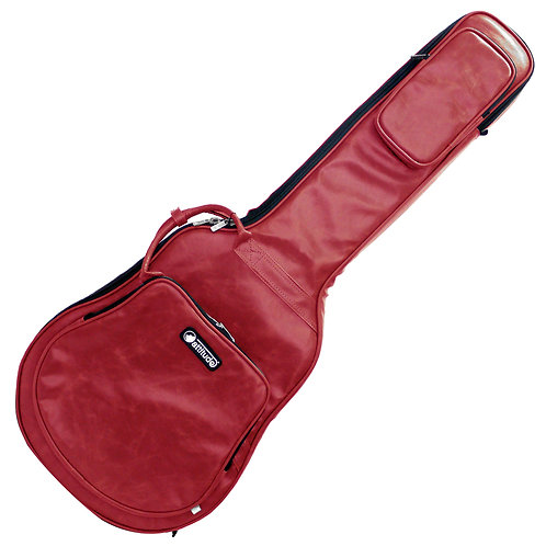 Attitude Studio Bag ~ Red Gloss ~ Semi Acoustic Guitar