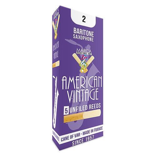 Marca American Vintage Reeds - 5 pack - Baritone� Sax - 2