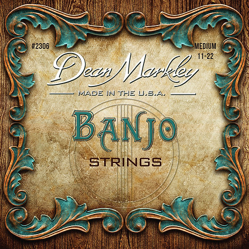 Dean Markley Banjo 5 String Set Medium 11-22w