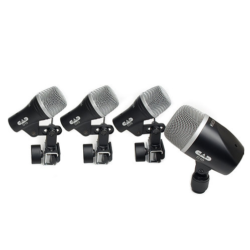 CAD 4 Piece Drum Microphone Pack