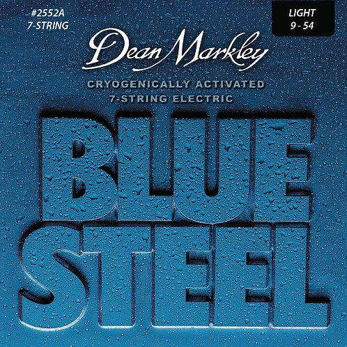 Dean Markley Blue Steel Electric Guitar 7 String Set Light 9-54