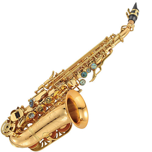P. Mauriat 2400 Curved Soprano Sax ~ Gold Lacquer
