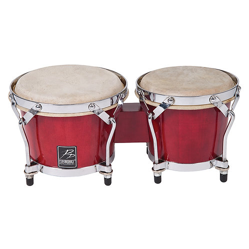 PP World Coloured Bongos ~ Red