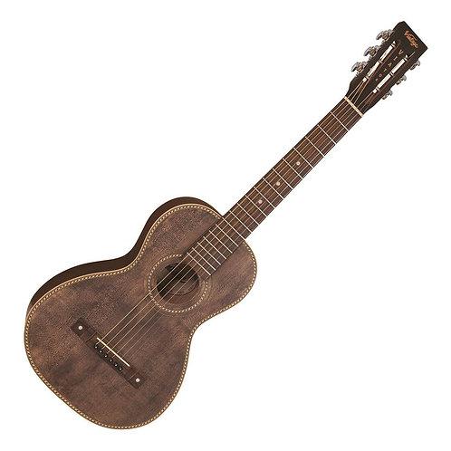 Vintage 'Viator' Paul Brett Electro-Acoustic Travel Guitar ~ Antiqued