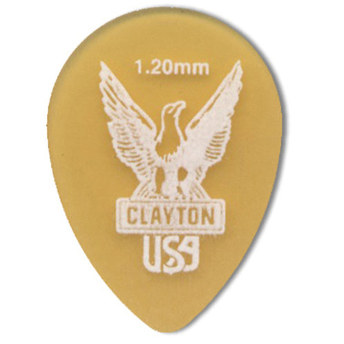 Clayton Ultem Tortoise Small Teardrop 1.20mm (12 Pack)