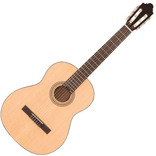 Santos Martinez Principante Classic Guitar ~ Natural, Open Pore