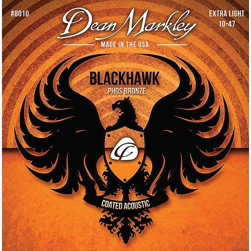Dean Markley Blackhawk Coated Pure Bronze Extra Light 10-47