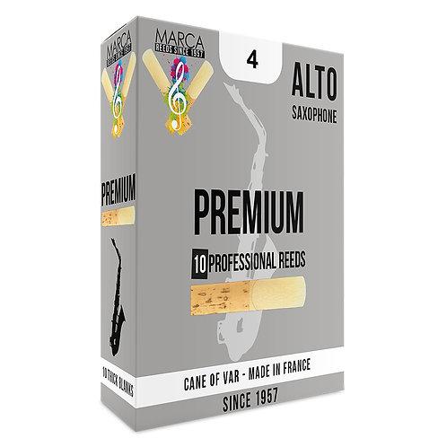 Marca Premium Reeds - 10 Pack - Alto Sax - 4