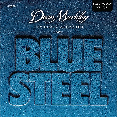 Dean Markley Blue Steel Bass Guitar Strings Medium Light 5 String 45-128