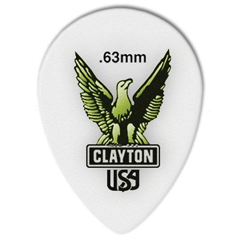 Clayton Acetal Small Teardrop .63mm (12 Pack)