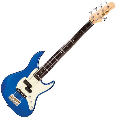 Fret-King Black Label Perception 5-String Bass ~ Candy Apple Blue