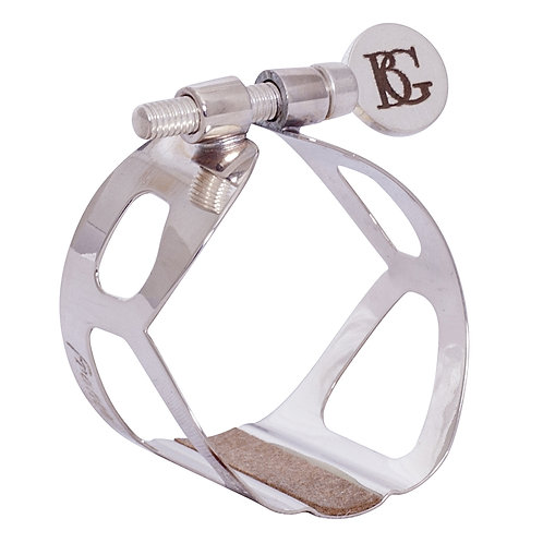 BG Traditional Ligature - Bass Clarinet - Silver Plated