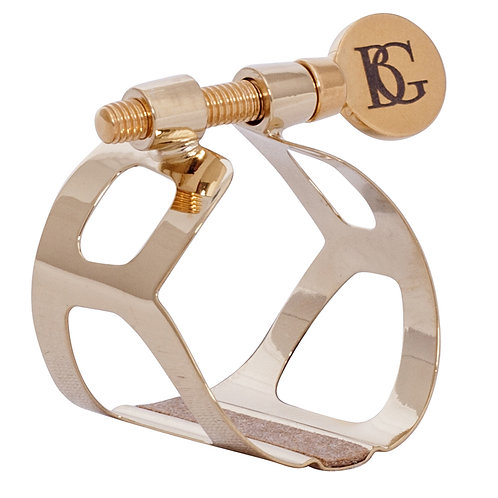 BG Traditional Ligature - Bb Clarinet - Gold Plated