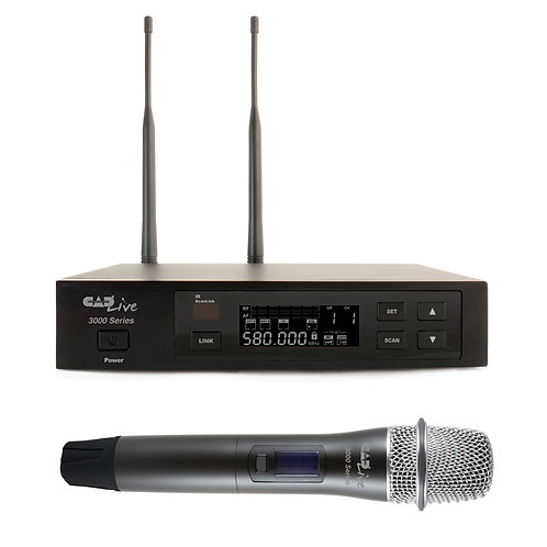 CADLive 3000 Series Wireless Microphone System