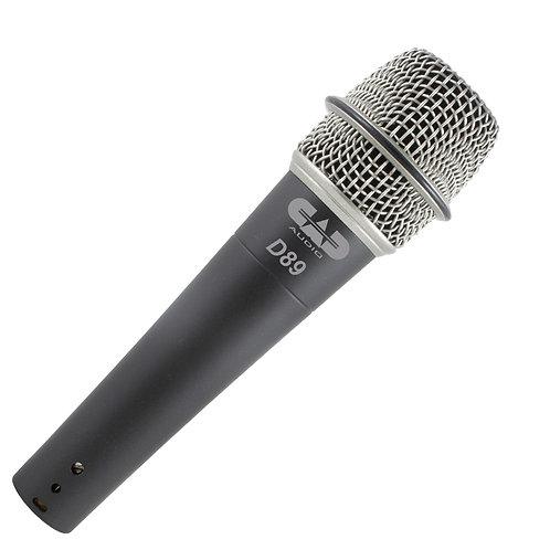 CAD Live D89 Premium Supercardioid Dynamic Instrument Microphone
