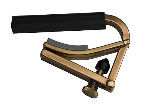 Shubb Original Classic Guitar Capo ~ Brass