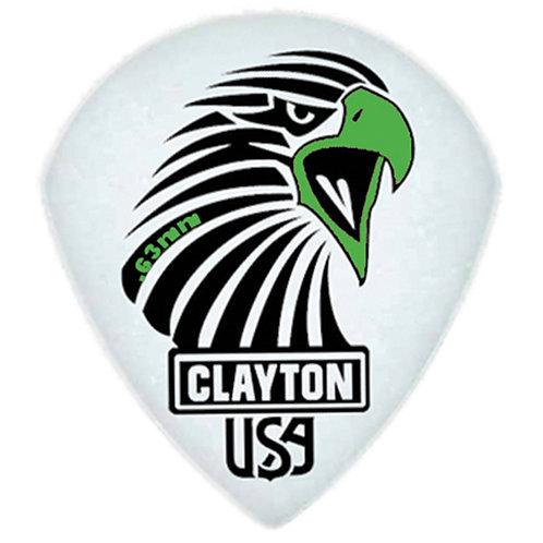 Clayton Acetal Sharp Teardrop .63mm (12 Pack)