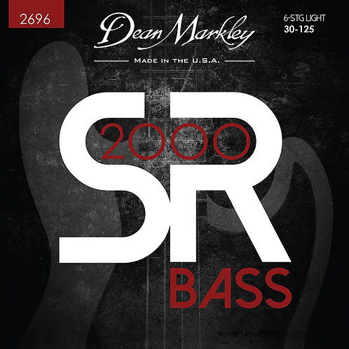 Dean Markley SR2000 High Performance Bass Guitar Strings Light 6 String 30-125